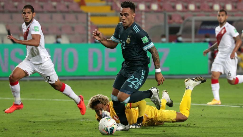 Gol-gol Argentina Menang 2-0 atas Peru