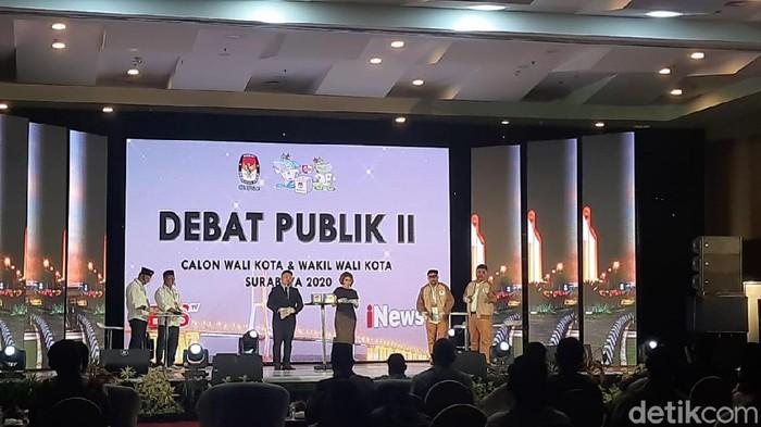 Debat Kedua Pilwali Surabaya 2020
