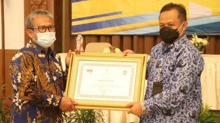 Sukabumi berpeluang raih penghargaan presiden.