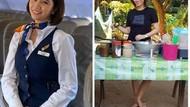 Pramugari Cantik Jadi Penjual Makanan hingga Ikan Cupang Paling Mahal