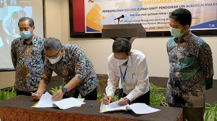 PT Wijaya Karya Bangunan Gedung Tbk (WEGE) raih kontrak paket Pekerjaan Rumah Sakit Pendidikan UIN Alauddin Makassar