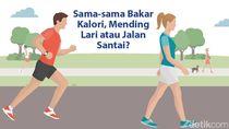 Lari atau Jalan Kaki, Mana yang Lebih Sehat?