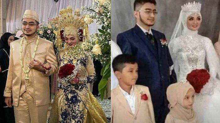 Foto pernikahan iputri Habib Rizieq, Najwa Shihab