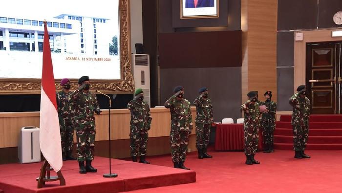 Panglima TNI Naikkan Pangkat 11 Perwira Tinggi