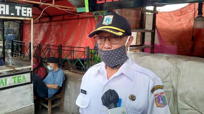 Sekretaris Kelurahan Petamburan, Sunardi, di Petamburan II, Jakarta Pusat, Rabu (18/11/2020).