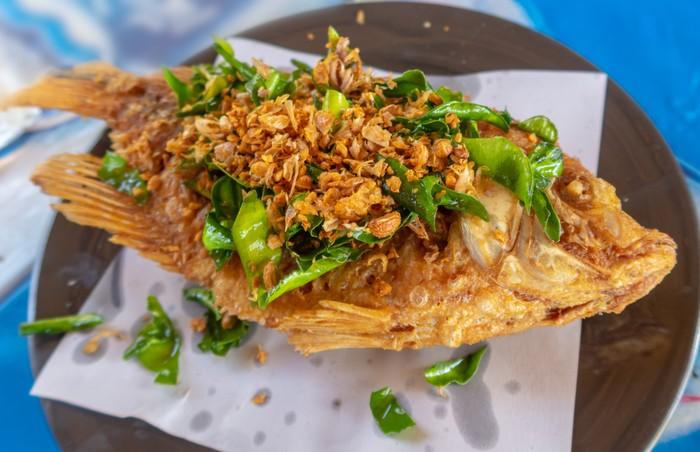 Tips menggoreng ikan