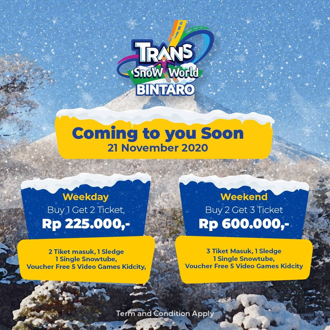 Trans Snow Bintaro.
