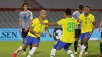 Uruguay Vs Brasil: Selecao Menang 2-0, Cavani Kartu Merah