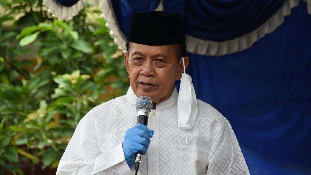 SyariefHasan Minta Pembakaran Mimbar Masjid di Makassar Diusut Tuntas