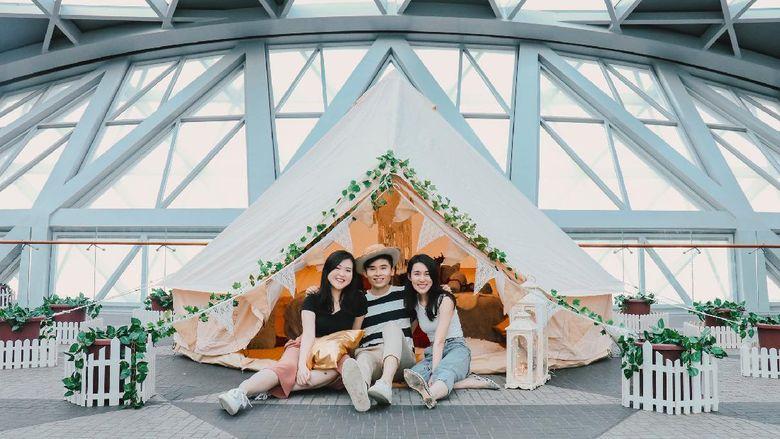 Wisata Glamping Bandara Changi