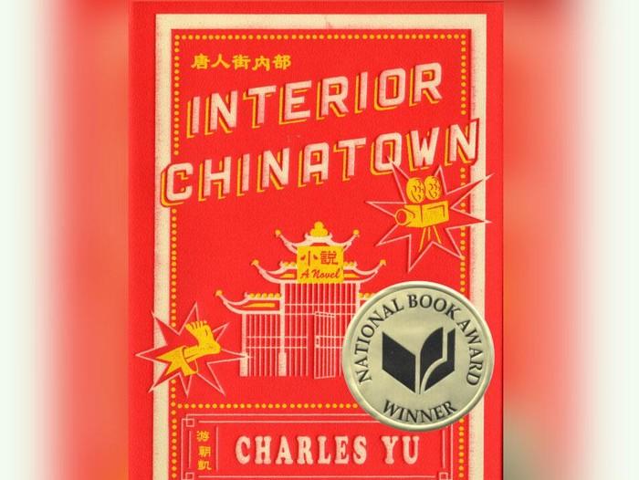 Buku Interior Chinatown karya Charles Yu.