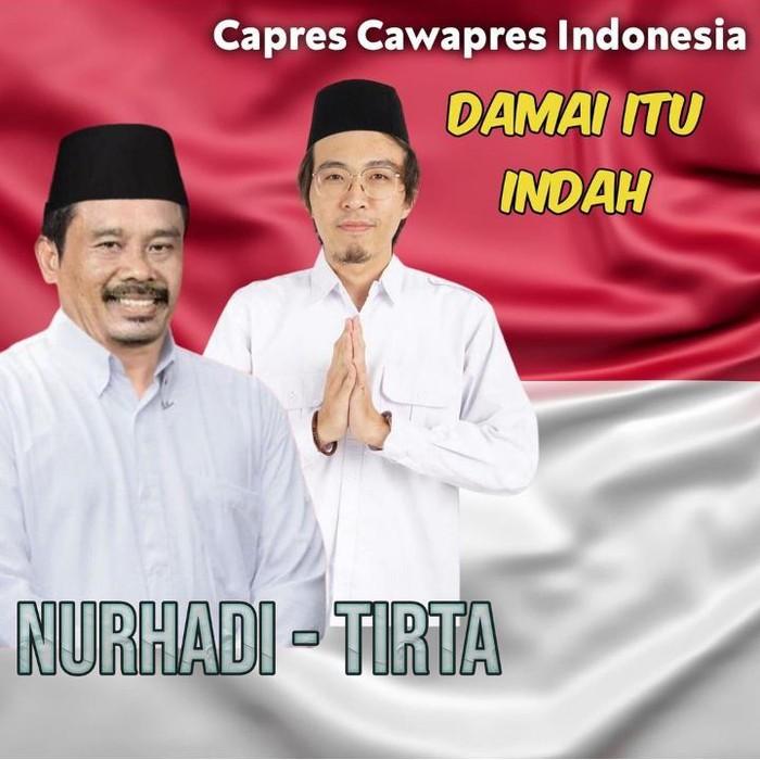 Capres fiktif Nurhadi kini koalisi dengan dr Tirta.