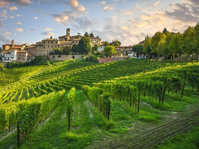 Potret Syahdu Kota Anggur Italia