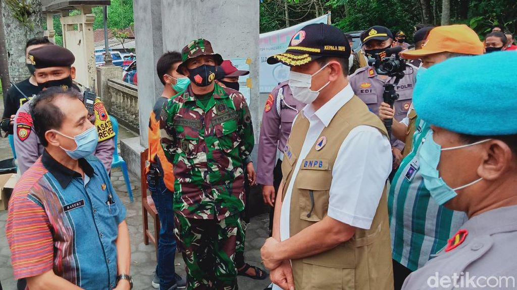 BNPB Ingatkan Ancaman Longsor-Banjir Material Gunung Merapi