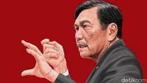 Luhut Jadi Menteri KP Sementara Gantikan Edhy Prabowo