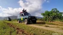 Foto: Eksotisnya Taman Nasional Meru Betiri dan Mobil Jip
