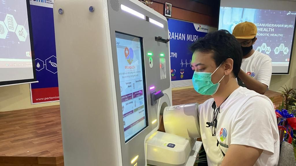 Alat Periksa Kesehatan Otomatis ProHealth Pertamina Raih Rekor MURI
