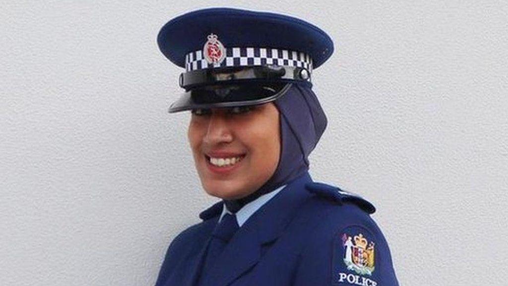 Ini Polisi Wanita Pertama di Selandia Baru yang Diizinkan Pakai Jilbab