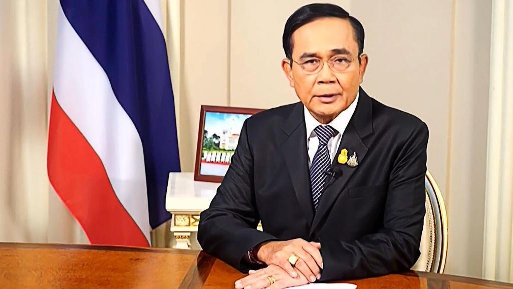Tak Pakai Masker Saat Rapat, PM Thailand Dihukum Denda