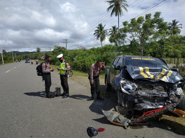Tabrakan maut di Aceh (dok. Istimewa)