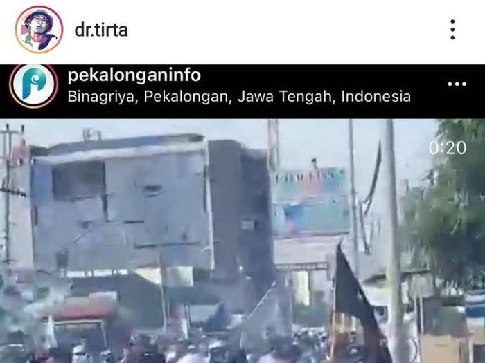 Tangkapan layar akun Instagram dr Tirta, Kamis (19/11/2020).