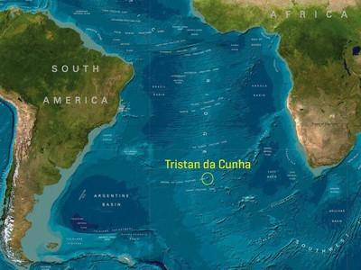 Foto Tristan de Cunha, Pulau Berpenghuni dan Paling Terpencil