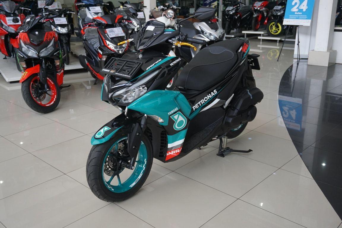 All New Yamaha Aerox 155 livery Petronas Sprinta Racing Team