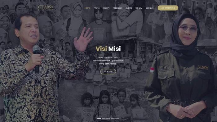 Anita Ratnasari Tanjung  dan Chairul Tanjung