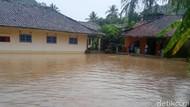 Banjir Rendam 5 Rumah dan Sawah Warga Cilograng Banten