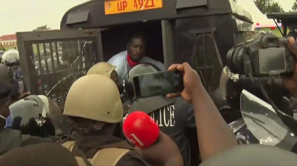 Demonstran Vs Aparat di Uganda, Belasan Orang Tewas