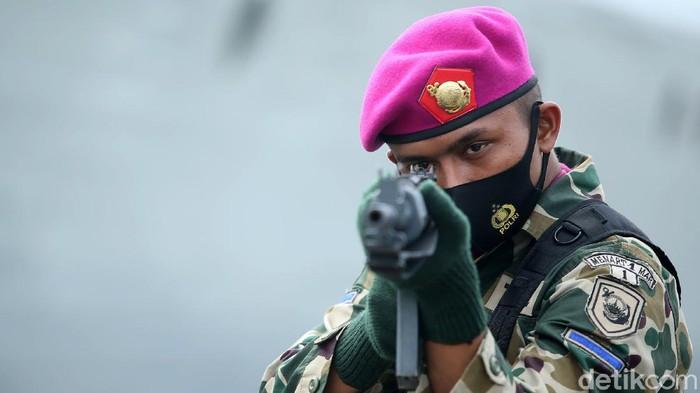 Gelar Pasukan Latihan Operasi Dukungan Tembakan tahun 2020 Koarmada I dilakukan di Dermaga JICT II, Tanjung Priok, Jakarta. Latihan sendiri akan berlangsung di Natuna.
