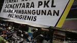 Intip Proyek Penataan PKL Higienis di Jalan Raden Patah