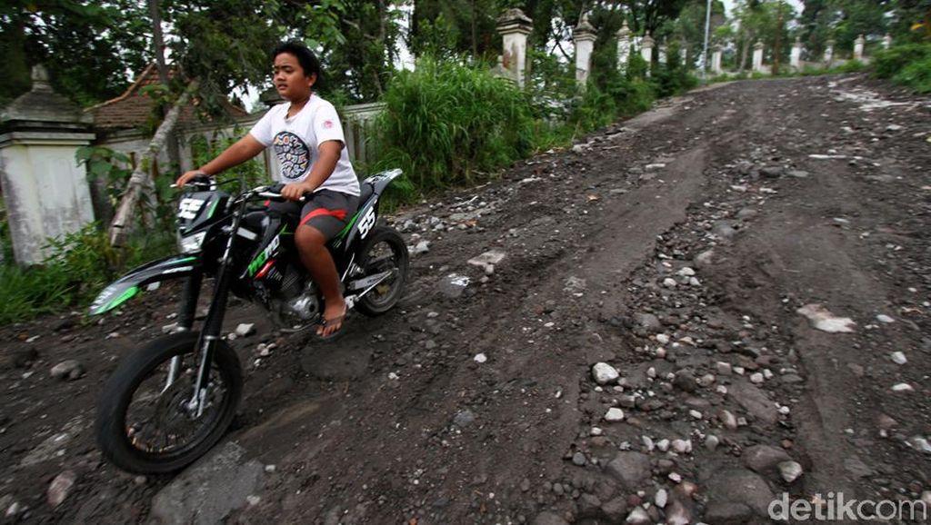 Jalur Evakuasi Gunung Merapi di Klaten Menanti Diperbaiki