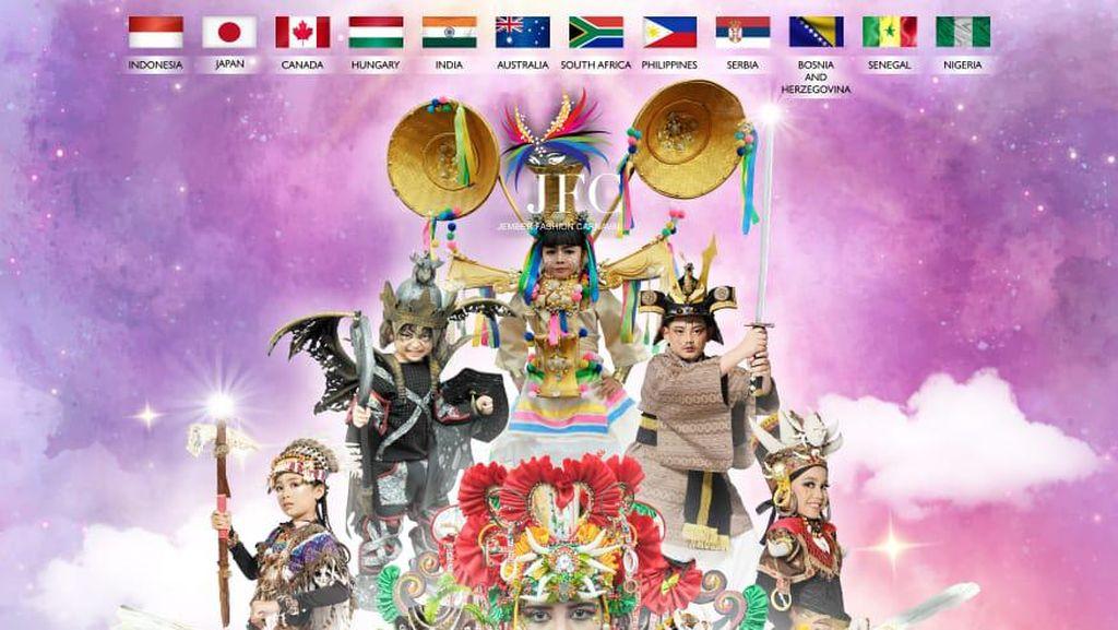 Jember Fashion Carnaval Siap Digelar Virtual 22 November 2020