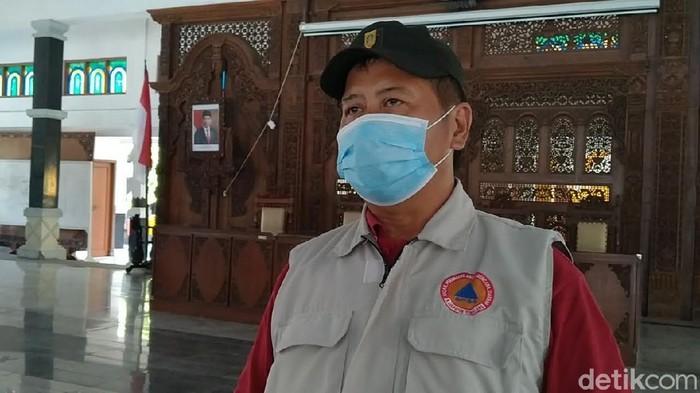 Juru Bicara Satgas COVID-19 Pemalang, Tutuko Raharjo, Jumat (20/11/2020).