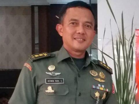 Kapendam Jaya Letkol Arh Herwin Budi Saputra, Kapendam Jaya Kolonel Arh Herwin Budi Saputra
