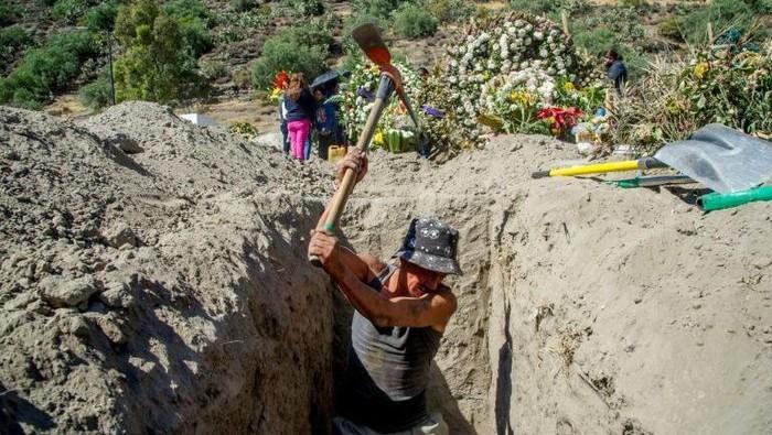 Kasus corona di Meksiko tembus 100 ribu kasus (AFP Photo)