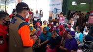 BNPB: Penghuni Pengungsian Merapi Dites Swab Antigen
