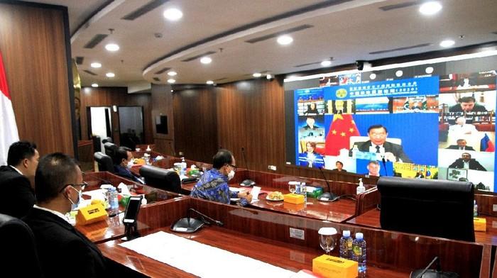 Ketua MA Hadiri The China Forum on International Legal Cooperation