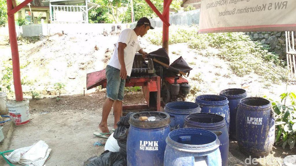 Keren! Komunitas di Cirebon Ini Sulap Sampah Jadi Pakan Lele