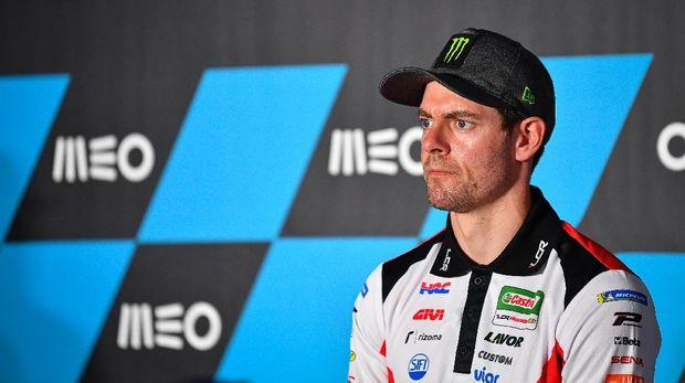 Cal Crutchlow pada konferensi pers jelang MotoGP Portugal 2020.