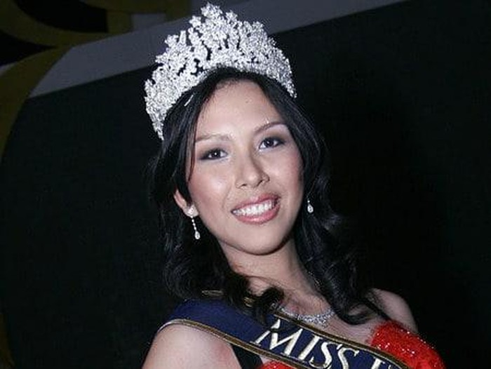 Kristania Virginia Besouw, Miss Indonenesia 2006. Foto: Dok. Instagram @officialdmidamw.