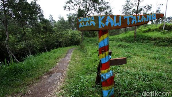 Begini suasana di objek wisata Kali Talang yang berada di kawasan Klaten, Jawa Tengah, Jumat (20/11/2020).