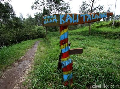 Tutup Gegara Merapi Siaga, Objek Wisata Kali Talang di Klaten Sepi