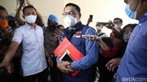 Momen Ridwan Kamil Penuhi Panggilan Bareskrim Polri