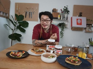 Resep Pancake Nutella, Menu Sarapan Praktis ala Chef William Gozali