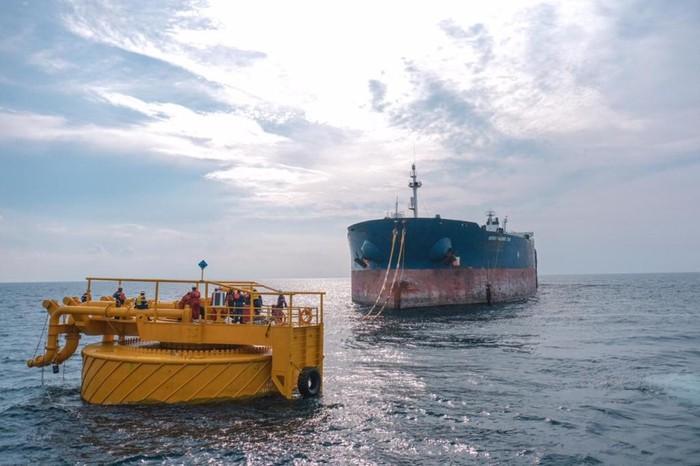 Pertamina EP Asset 4 Sukowati melakukan pergantian single point mooring (SPM) di perairan Laut Jawa, tepatnya di Kabupaten Tuban.