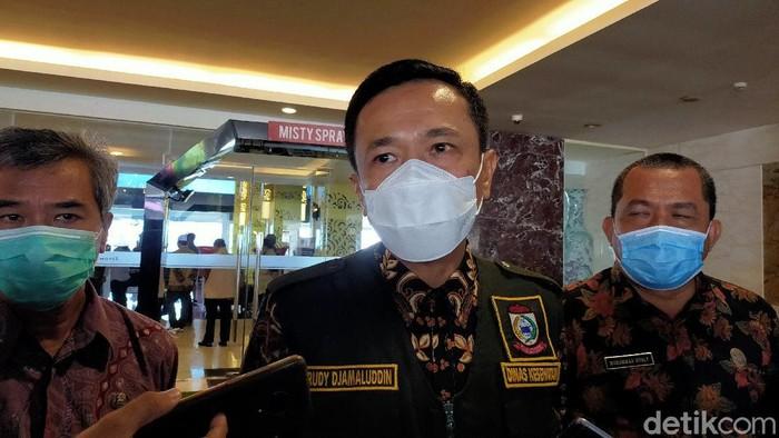 Pj Wali Kota (Walkot) Makassar Rudy Djamaluddin (Ibnu Munsir/detikcom)