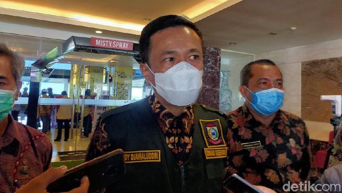 Pj Walkot Makassar Rudy Djamaluddin (Ibnu Munsir-detikcom).