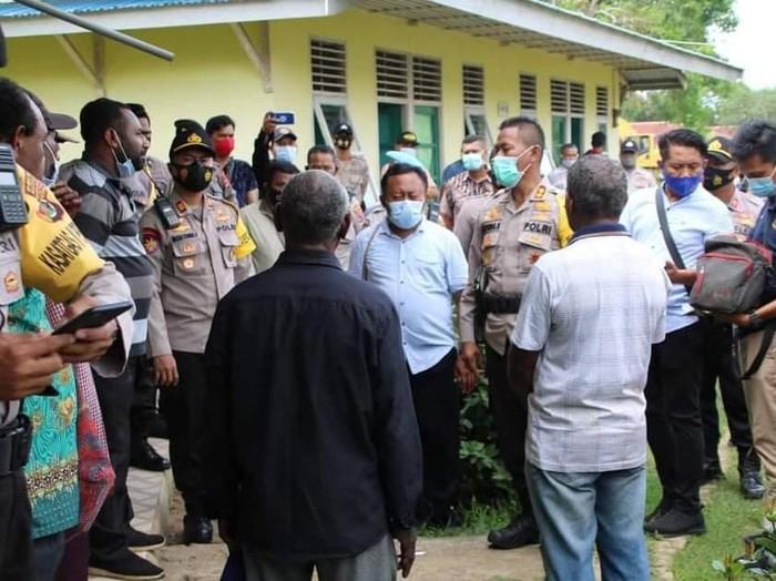 Polres Merauke amankan 54 orang peserta RDP otsus Papua karena diduga berisi niatan makar (dok Polres Merauke)